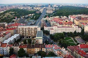 Третий район Праги