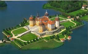 Замок Морицбург в Дрездене (Германия)