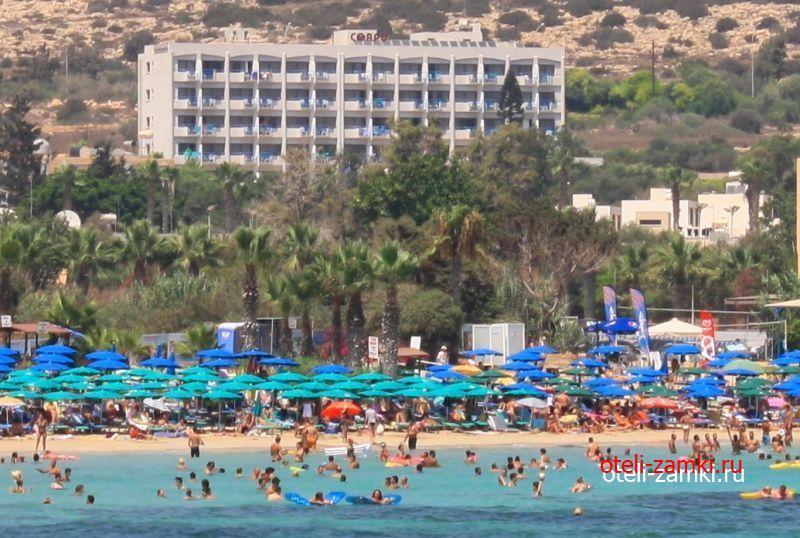 Corfu 3* (Айя-Напа, Кипр)