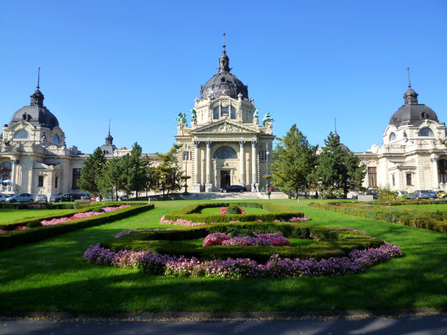 Парк Варошлигет в Будапеште (Városliget)
