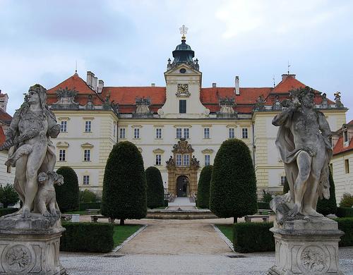 Замок Орлик (Orlik nad Vltavou) ночью