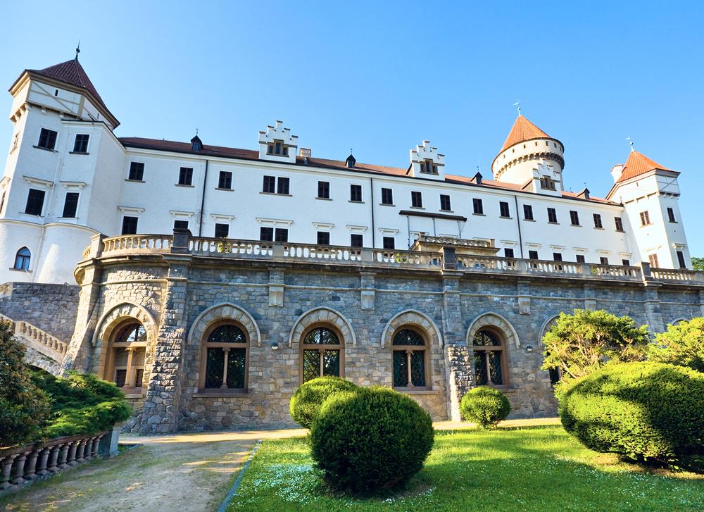 Замок Конопиште (Konopiste)
