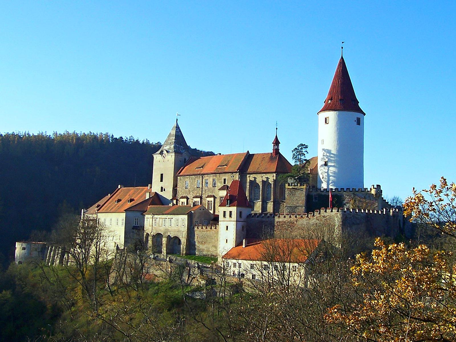 Замок Крживоклат (Hrad Křivoklát)