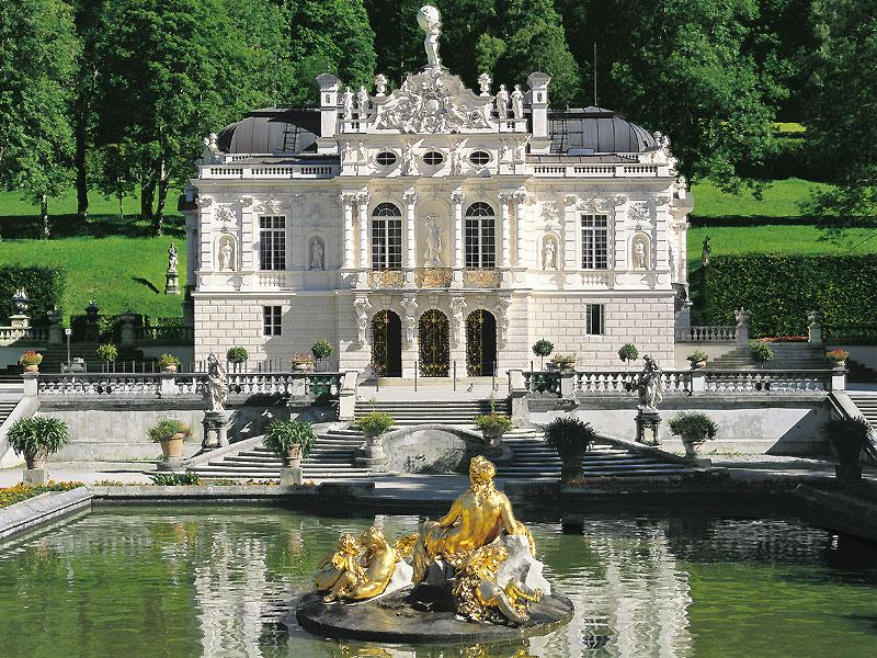 Замок Херренкимзее в Баварии