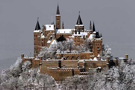 Замок Гогенцоллерн в Баден-Вюртемберге