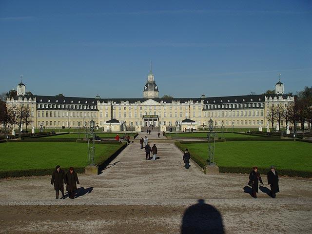 Замок Карлсруэ в Карлсруэ