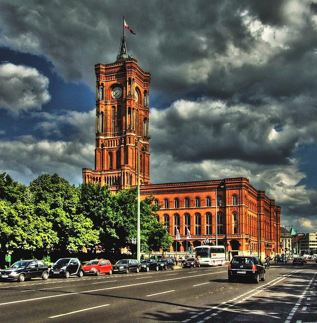 Красная Ратуша - Берлинская Ратуша в Германии