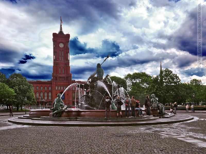 Красная Ратуша - Берлинская Ратуша