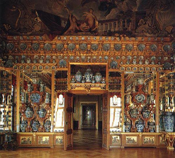 Замок Шарлоттенбург в Германии