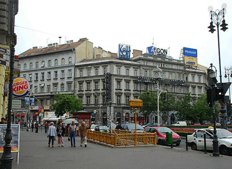 Проспект Андраши в Венгрии