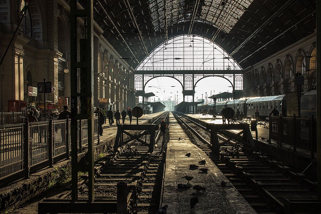 Вокзал Келети (Budapest Keleti) в Будапеште, Венгрия
