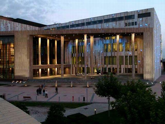 Музей Людвига в Будапеште в Венгрии