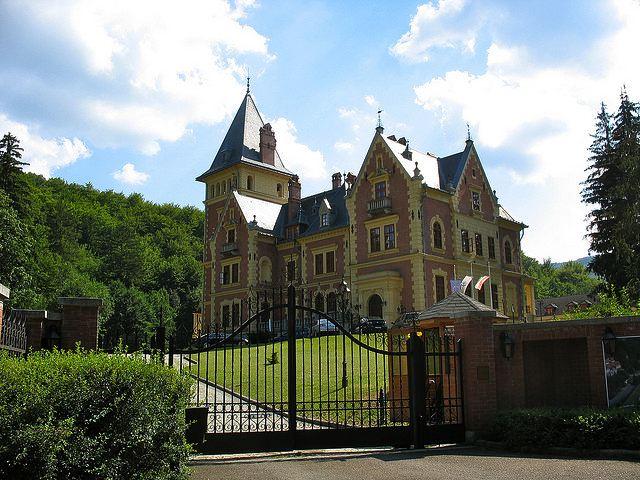 Венгерский Замок Шашвар
