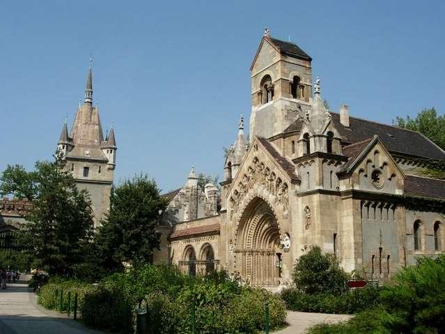 Венгерский Замок Вайдахуняд