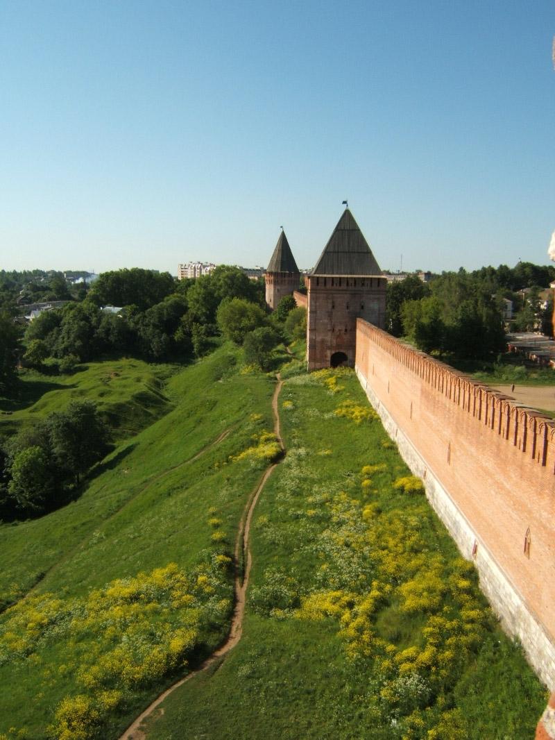Смоленская крепость в России