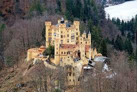 Замок Хоэншвангау в Фюссене (Германия)