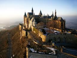 Замок Гогенцоллерн в Баден-Вюртемберге (Германия)