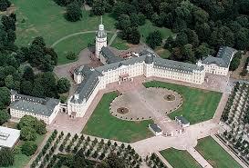 Замок Карлсруэ в Карлсруэ (Германия)