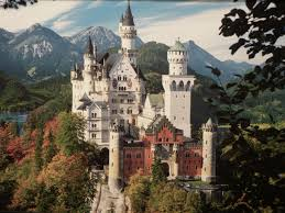 Замок Нойшванштайн в Фюссене (Германия)