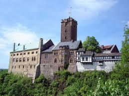 Замок Вартбург в Вартбурге (Германия)