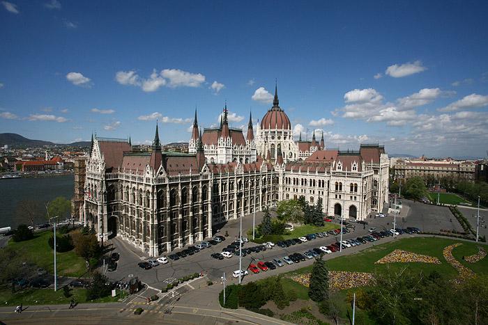 Здание венгерского парламента (Будапешт)