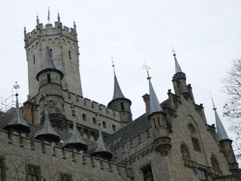 Замок Мариенбург в Ганновере в Германии