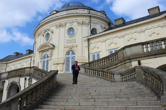 Замок Солитюд в Штутгарте в Германия