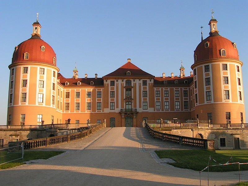 Замок Морицбург в Дрездене