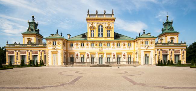 Вилянувский дворец в Польше