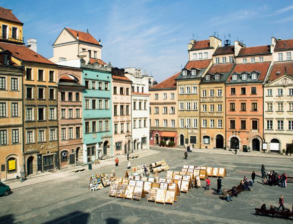 Рыночная площадь Варшавы (Warszawa, Rynek Starego Miasta)