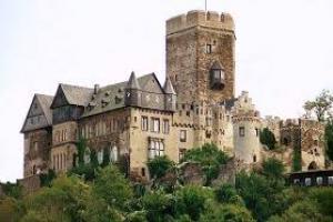 Замок Ланэк в Рейнланд-Пфальце (Германия)