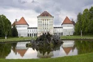 Замок Нимфенбург в Мюнхене (Германия)