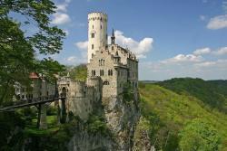 Замок Лихтенштейн (Burg Liechtenstein)