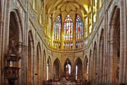 Интерьер Собора Святого Вита