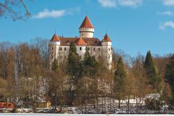 Замок Конопиште (Konopiste) зимой