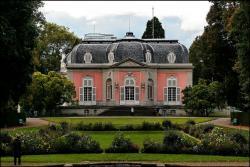 Замок Бенрат в Дюссельдорфе