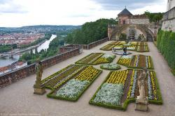 Крепость Мариенберг в Вюрцбурге в Германии
