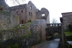Замок Хоэнбаден в Баден-Бадене