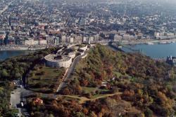 Вид на гору Геллерт и Будапешт