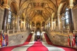 Внутри венгерского парламента