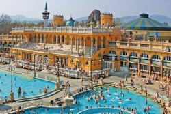 Купальня Сечени в Венгрии