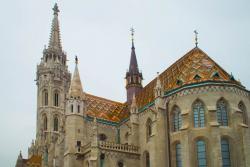 Собор Матяша в Будапеште в Венгрии