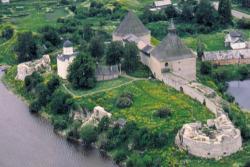 Староладожская крепость в России