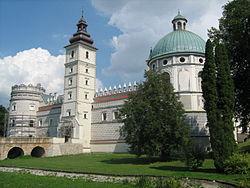 Замок Красицких в Красичине
